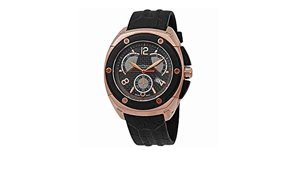 Reloj cronógrafo para Hombre con Esfera Negra de San Honor Haussman 889072 78CBAR: Amazon.es: Relojes