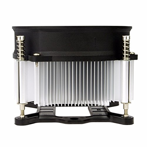 TRONWIRE TW-3 Premium Intel Core i3 / i5 / i7 Socket 1156/1155 / 1151/1150 4-Pin Connector CPU Cooler With Aluminum Heatsink & 3.62-Inch Fan With Pre-Applied Thermal Paste by TronStore (Image #2)