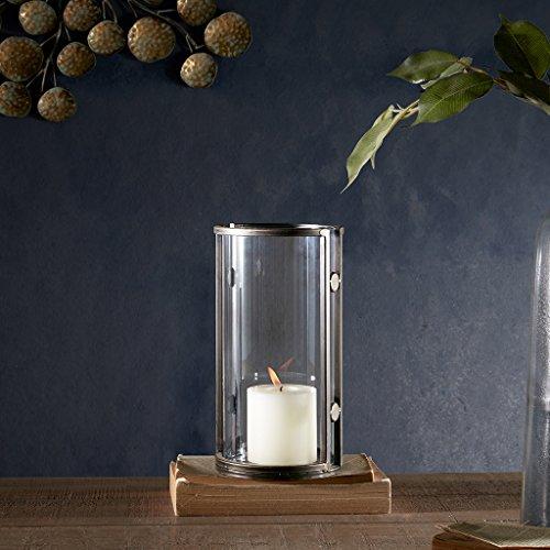 Warwick Handmade Iron/Glass Candleholder Bronze Medium