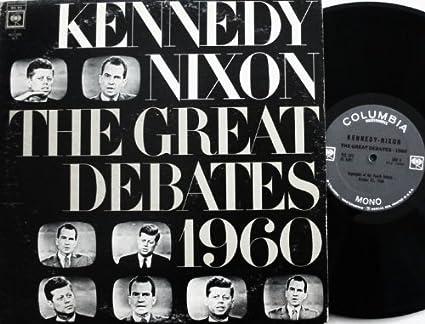 Hk Smith Cronkite Moderators Frank Mchee Richard Nixon John F