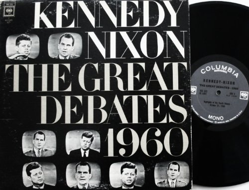 Kennedy / Nixon: The Great Debates 1960 LP (Nixon Vinyl)