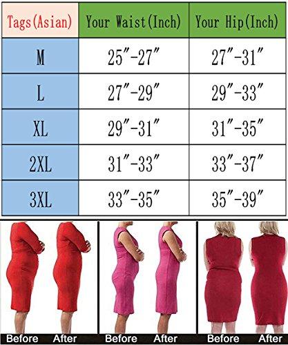 FLORATA Women Butt Booty Lifter Shaper Bum Lift Pants Buttocks Enhancer Boyshorts Briefs by FLORATA (Image #2)