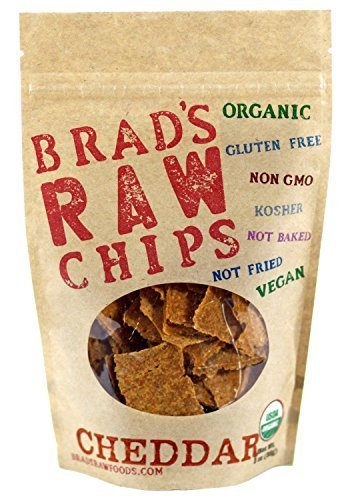 Cheddar Flavor Raw Chips 3 Ounces (Case of 12)