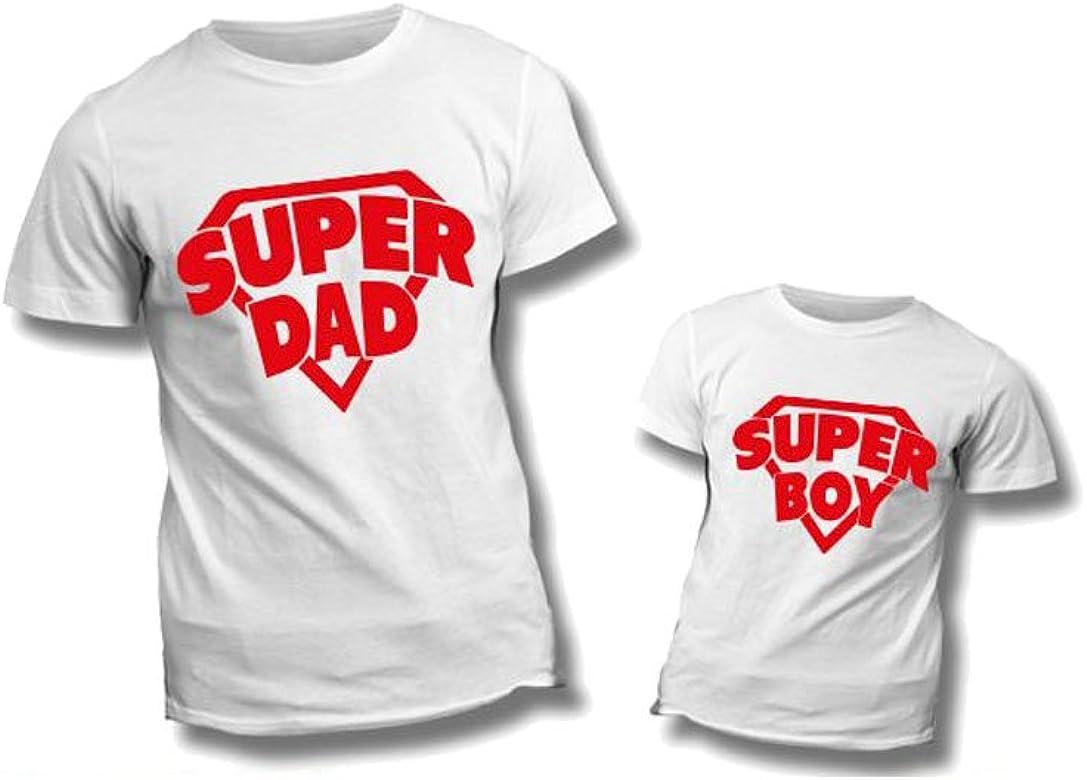 Altra Marca Coppia di T Shirt Personalizzate per Padre e