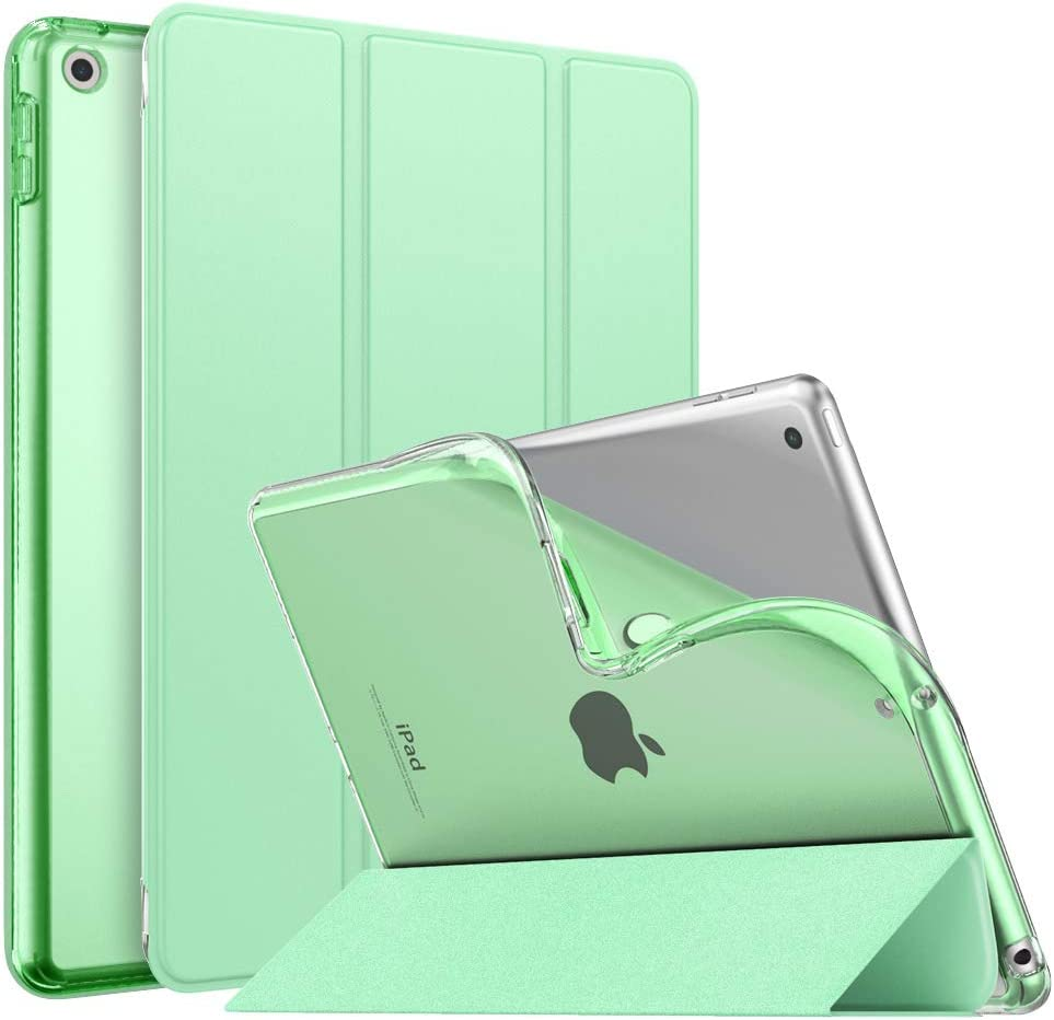 Funda iPad 8th Gen 10.2  y 7th Gen Auto Wake / Sleep, Verde