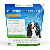 Agatha's Pet Wellness Probiotic Powder Dog Essentials – 9 Probiotic Strains – Improved Digestion – Total Organ Protection – Skin & Fur Health – 45 Billion CFU Per Serving – 5-Month Supply For Sale