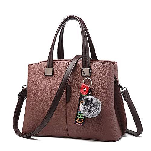 Simple Handbag 4cm 22 Fannb 30 Green Portable Fashion Purple aTq55x0E