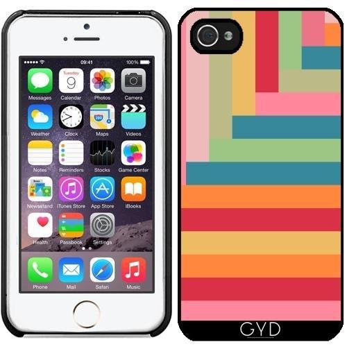Coque pour Iphone 5/5S - Jeu De Couleurs by Yasmina Baggili