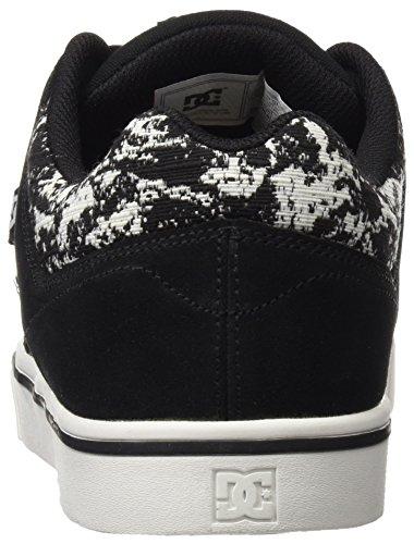 DC Shoes Course 2 Se M, Zapatillas de Skateboarding para Hombre Negro (Black / Print)