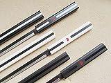 naruto grass cutter sword - S2658 ANIME NARUTO SASUKE KUSANAGI GRASS CUTTER SWORD GUN METAL BLADE LOT 3 40