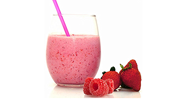 56 Smoothies fresa-frambuesa sin gluten – Dieta proteína ...