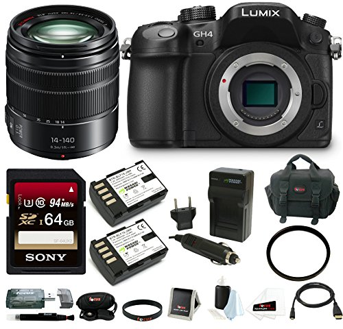 Panasonic-LUMIX-DMC-GH4K-Mirrorless-Camera-Bundle-Bundle-14-140mm-Lens