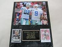 Jason Witten Tony Romo Dallas Cowboys 2 Card Collector Plaque w/8x10 Photo