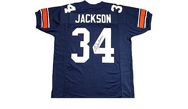 brand new 9cc0c 5b296 Bo Jackson Signed Auburn Tigers Jersey at Amazon's Sports ...