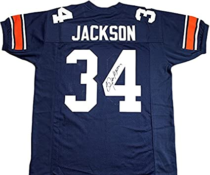 brand new 7c7b6 b2eb1 Bo Jackson Signed Auburn Tigers Jersey at Amazon's Sports ...