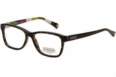 56280b06d595 Amazon.com: Coach Julayne Eyeglasses HC6013 5001 Dark Tortoise Demo ...