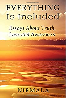 that is that essays about true nature nirmala  everything is included essays about truth love and awareness
