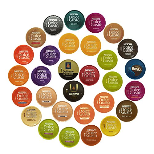 nescafe dolce gusto coffee sampler 30 capsules buy online in uae misc products in the. Black Bedroom Furniture Sets. Home Design Ideas
