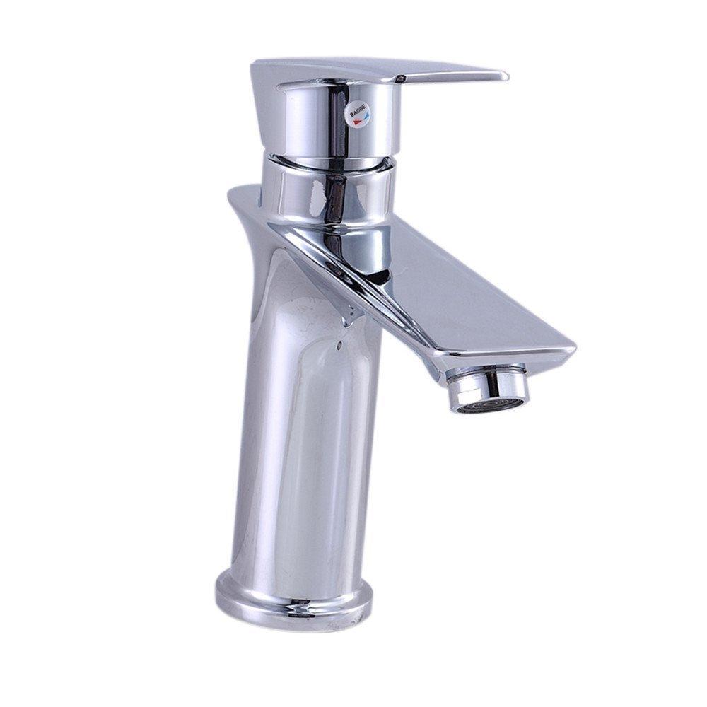 Mucert Hahn, Vollkupfer, Waschbecken Wasserhahn, Kaltes Und Warmes Wasser, Waschbecken Wasserhahn