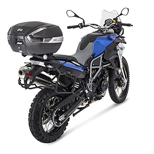 Topcase Set Yamaha FJ 1200 87-99 Givi Monokey V47NNT schwarz//carbon
