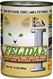 Felidae Canned Cat Food for Adult Cats and Kittens, Grain Free Formula 13 Ounce Cans (Pack of 12 ), My Pet Supplies