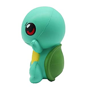 Footprintse Cute Big Eyed Cartoon Tortoise Shape Slow Rising Toy Squeeze Toy Relieves Stress Anxiety Toy Show Window Decor