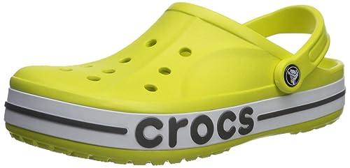 adcefad89fd2c7 Crocs Womens Bayaband Clog Yellow Size  10 M US Women   8 M US Men