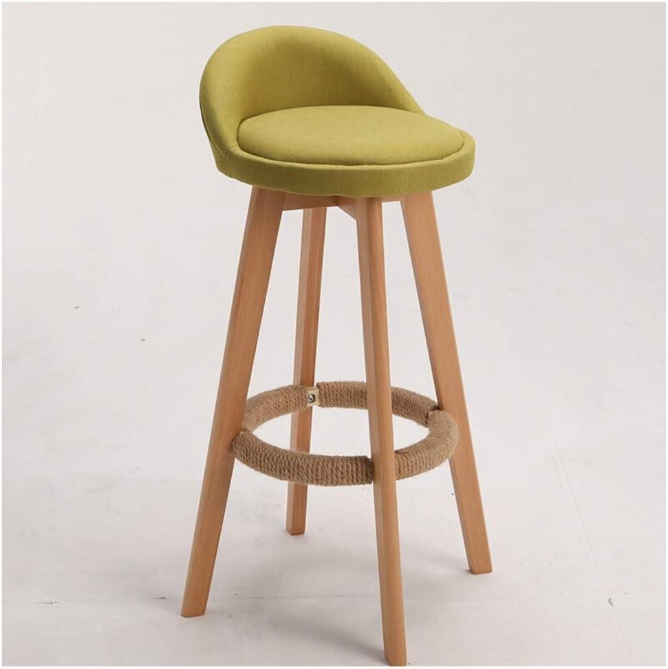 Amazon.com: Restaurant Chairs Bar Stool Solid Wood Bar Chair High
