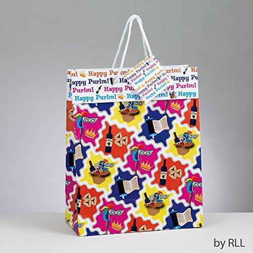 Purim Gift Bag with Gift Tag