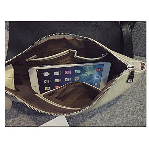 Envelope Party Leather HAUTE Purse Clutch Evening Wristlets LA Handbags Large PU Bags Grey Women wBq1FY