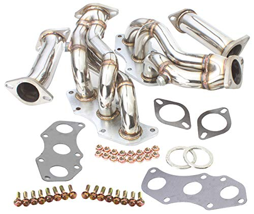 AJP Distributors 2 Piece 3-1 Stainless Steel High Performance Header Exhaust Manifold For 2006 2007 2008 2009 2010 2011 2012 2013 06 07 08 09 10 11 12 13 Lexus IS250 IS350 RWD 2 Piece Performance Header