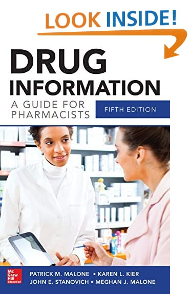 drug information a guide for pharmacists 5e malone drug information - Drug Information Pharmacist
