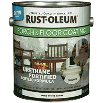 Rust Oleum 248169 Gallon Pure White And Pastel Tint Base