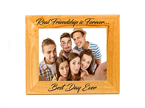 (Sofia's Findings Personalized - Custom Wooden Picture Frame (4x6))