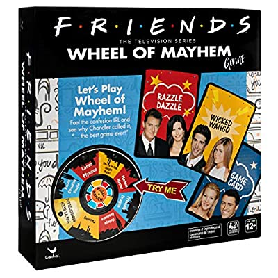 Friends TV Show, Wheel of Mayhem Game, for Teens & Adults: Toys & Games