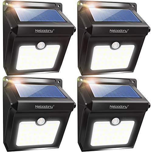 Neloodony Solar Lights Outdoor