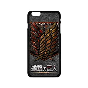 Attack On Titan Fashion Comstom Plastic case cover For Iphone 6