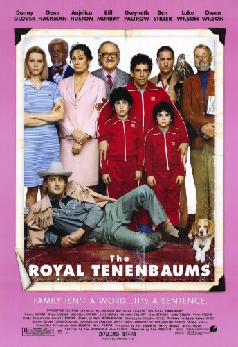 11 x 17 The Royal Tenenbaums Movie Poster