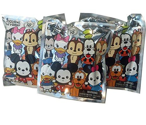 Disney Series 10 Blind Bag 3D Keyring Bundle of 3