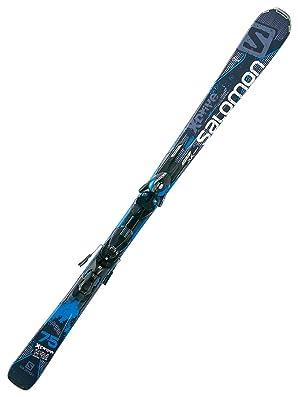 SALOMON(サロモン) スキー板 (ビンディング付き) X-DRIVE 75+KZ10 B80 2014-2015モデル ブラックXブルー 152cm
