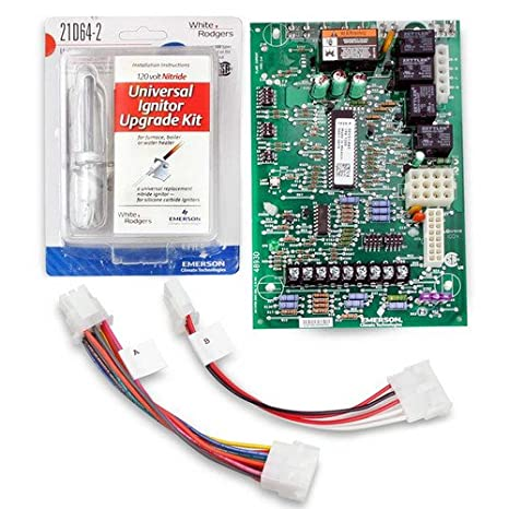 Emerson 21M51U-843 Universal Integrated Furnace Control Kit with Three on