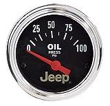 Auto Meter 880240 Jeep Electric Oil Pressure Gauge