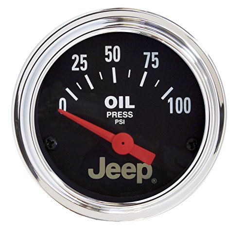 Auto Meter 880240 Jeep Electric Oil Pressure Gauge