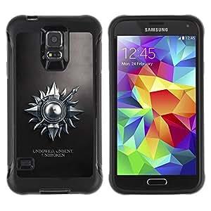 """Hypernova Defender Series TPU protection Cas Case Coque pour Samsung Galaxy S5 V [Erguida sin doblar ininterrumpida""""]"""
