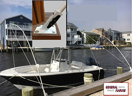- Mooring Whips deck mounted for boats from 15' to 40' solid 1