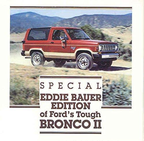 1988 ? Ford Bronco II Eddie Bauer Truck (Ford Bronco Brochure)