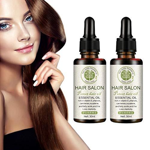 Chezaa Essential Oil 2pc Organic Natural Hair Growth Moroccan Argan Oil 100% Pure Plant Care Hair Diffuser (1.02oz / 30ml)For Dry & Damaged Hair Moisturizer