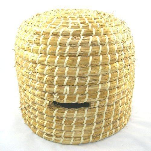 Simonthebeekeeper - Handgefertigter Großer Imker Stroh Bienenkorb