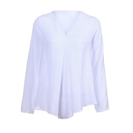 Camisa para Mujer, BBestseller Blusa Suelta de Manga Larga para Mujer,de Moda otoño