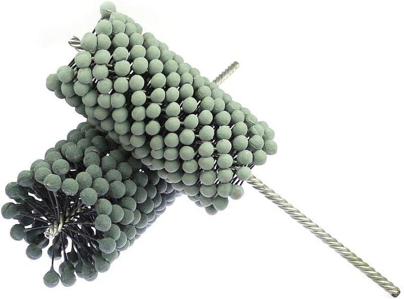 1 Piece Flexible Abrasive Ball Brush Pipe Deburring Grinding Head Polishing Brush,Dia.79x150x300mmP320 Dia.45x70x200mmxp320